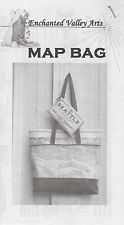 Seattle Map Bag Purse Coin Pattern, DIY by Barb Schultz, Enchanted Valley Arts