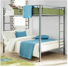 Bunk Beds Full Over Full Size Kids Girls Boys Adults Bedroom Furniture Loft Bed