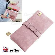 UK Ladies Purses Women Leather Wallet Clutch Long Card Holder Case Purse Handbag