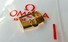 Omega 14mm Gold Plated Watch Buckle