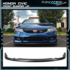 09-11 Honda Civic 4Dr Fa Fd C Speed Lower Splitter Add On Under Lip
