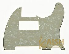 Tele Telecaster Style Guitar Humbucker Pickguard Scratch Plate Aged Pearl