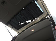 Mercedes Vito 638 V Class rear curtains complete set full set black