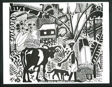 Michael Adamas : Seychelles  - cartolina  formato cm 13 x 17 - nuova e perfetta