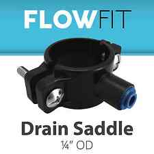 Express Water Drain Saddle Clamp for Reverse Osmosis RO System Drain Connection