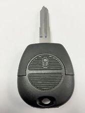 Llave de repuesto 2 botones caso para el Nissan Almera Micra Primera Terrano