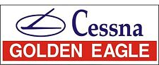 A092 Cessna Golden Eagle Airplane banner hangar garage decor Aircraft signs
