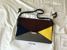 Celine Color blocked Shoulder Bag