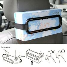 Auto Car Seat Back Sun Visor Tissue Paper Box Bracket Clip Dispenser Holder