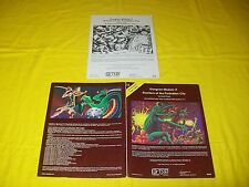 I1 DWELLERS OF THE FORBIDDEN CITY DUNGEONS & DRAGONS AD&D TSR 9046 6 MODULE