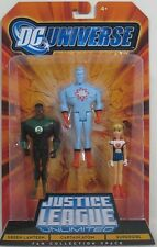 DC JUSTICE LEAGUE 3 PACK GREEN LANTERN ATOM SUPERGIRL