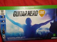 Xbox One Guitar Hero Live Bundle w/ Game |USED LIGHTLY, OPENED XboxOne 1