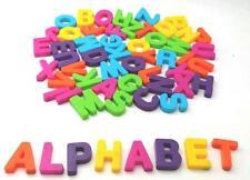 57 Alphabet Magnetic Uppercase Letters Plastic Preschool Kindergarten Homeschool