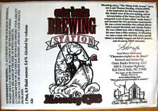 MOONDOG Beer Label Sticker, Outer Banks, NORTH CAROLINA