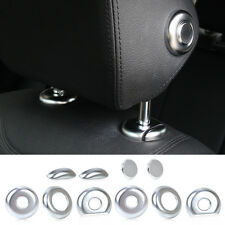 New 10x Headrest and Rod Button Molding Cover Trim for BMW 3 4 Series F30 F31