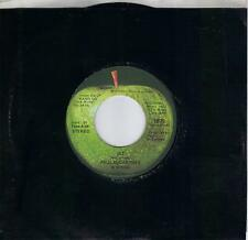 PAUL McCARTNEY  Jet / Mamunia original 45 on APPLE label  THE BEATLES
