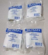 "4x! H-633-AA Sloan Sweat Solder Kit 1"" supply Closet Urinal ONLY $4 EACH SHIPPED"