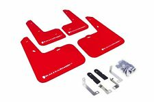 Rally Armor Red Mud Flap w/ White Logo For 12-16 Hyundai Veloster