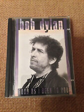 EXTREMELY RARE MINI DISC - BOB DYLAN - GOOD AS I BEEN TO YOU (1992)