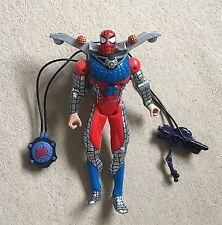 "MARVEL Spiderman avventura Hero ""acqua WEB BLASTER's (2000) 10"" Action Figure"