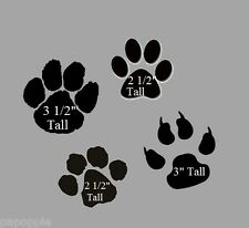 Stencil Paws Paw Prints Animal Feet Bears Dogs Cats