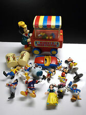 Lot de figurines Donald Disney Mickey + Corn Popper + Voiture