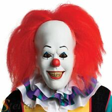 Deluxe Pennywise Overhead Mask IT Halloween Fancy Dress Costume Accessory