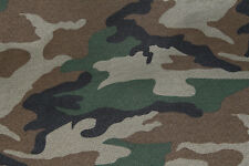 Shower Resistant Polyester Traditional Camouflage Print Fabric Material