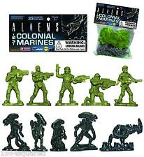 Aliens vs Colonial Marines Army Men Builder 35 Figure Set Alien AVP MOC New Mint