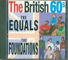 The Equals & The Foundations - The British 60S Cd Ottimo