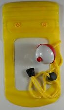 Floating Cell Phone Mobile Smart Phone Case Waterproof with Float - Yellow