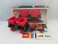 Lego Train 4.5V - 130 Wagon with Double Tippers