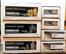 Dioramas Plus WWII Europe Specially Priced 3 kit Combo! 1/35 Diorama Bases +
