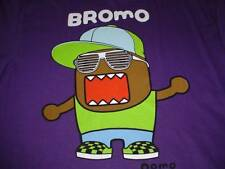 NEW DOMO BROMO PURPLE COTTON  T-SHIRT MENS L