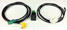 USB AUX Kabel Wire AUX USB  switch Für RCD510+ RCD310+ VW Touran Tiguan AC211