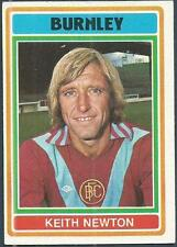 TOPPS 1976 FOOTBALLERS #052-BURNLEY-KEITH NEWTON