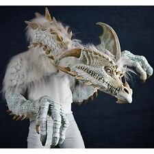 ICE DRAGON Halloween Mask Costume Dinosaur Daenerys Witch Cinder Monster Villain