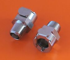 DUCATI 748/916/996/998 FUEL CONNECTOR Q/R FEMALE THREAD -CPC ORIGINAL METAL/PAIR