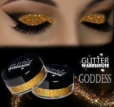 GlitterWarehouse Loose Cosmetic Glitter Powder Dust Eyeshadow Holographic Gold