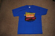 YELLOWCARD CAN SING ME A PRE-CHORUS ANYTIME T SHIRT LARGE OFFICIAL HANG YOU UP