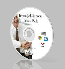 Dream Job Success Ultimate Pack - Interview, Resume, and More on CD!