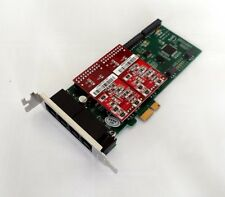 Atcom AXE400PL-02 4 Port Analog PCI-E Asterisk Low Profile Card with 0 FXS 2 FXO