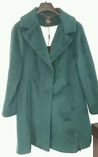 BNWT DEBS BETTY JACKSON BLACK retro 50's 14 LADIES COAT JACKET £159 green jade