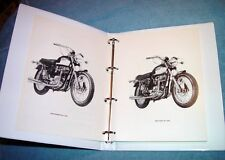1971-72 Triumph 650,T120, OIF, NEW, OEM, Factory Shop Manual/Binder