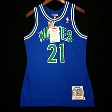 100% Authentic Kevin Garnett Mitchell & Ness Wolves NBA Jersey Size 36 S