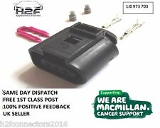 VW 3 Pin Conector 1J0973703 1j0 973 703 Gratis 1st Class Post