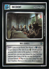STAR TREK CCG VOYAGER RARE CARD WAR COUNCIL