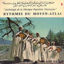 """VARIOUS – Anthologie De La Musique Populaire Marocaine (VINYL EP 7"""" FRANCE)"""