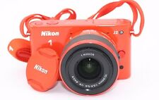 Nikon 1 J2 10.1 MP Digital Camera - Orange (Kit w/ VR 10-30mm Lens)