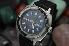 Vintage TRI STATE DIVER'S Super Automatic 30ATM Stainless Steel Men's Dive Watch